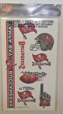 NFL TAMPA BAY BUCCANEERS SHEET OF 7 TEMPORARY TATTOOS FAST FREE SHIPPING