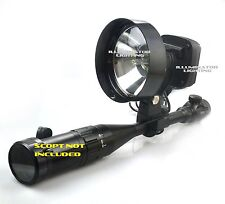 35w HID 150mm Rifle/Scope Mount Walking Spotlight, Adjustable Focus Spot Light