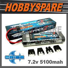 ORION 7.2V 5100 NiMH RC CAR RACING BATTERY UNI PLUG TAMIYA TRAXXAS HPI HSP