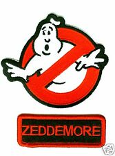 GHOSTBUSTERS ZEDDEMORE NAME TAG 2-PATCH IRON-ON SET