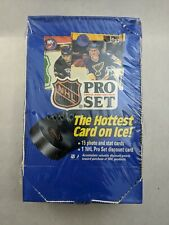 NHL Pro Set 1990 Series 1 Factory sealed box of Hockey Cards