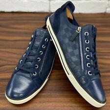 Authentic Louis Vuitton Challenge Low Top Sneaker Damier Zip 12 LV fits 13 US