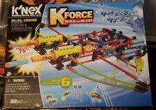 K'Nex K-Force Build & Blast Knex Dual Cross-bow Building Set 368 Pieces ages 8+