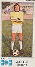 N°335 JEAN-LUC ARBLAY # TAF TROYES STICKER PANINI FOOTBALL 1977