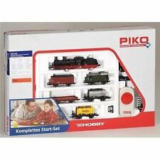 PIKO 57120 Start-set Güterzug Dampflok G7 5 Wagen
