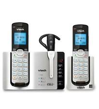 VTech Connect to Cell DS6771-3 DECT 6.0 Cordless Phone - Black, Silver (ds67713)