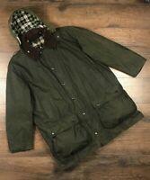 Barbour Border Mens Wax Jacket size C48/122CM