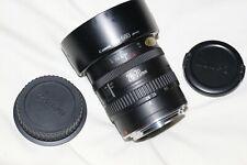 Canon EF 28-70mm mkII Autofocus Zoom Lens & Hood  Made in Japan  Metal Mount