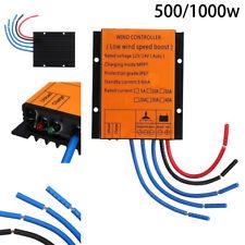 12V/24V 500W 1000W Waterproof Wind Turbine Generator Charge Controller Regulator