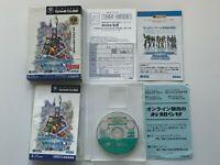 Nintendo game cube phantasy star online JAPAN SEGA Japan JP Gamecube NTSC-J