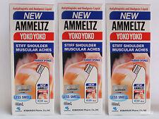 3x 80ml Original YOKO YOKO Ammeltz Muscular Aches Stiff Shoulder Pain Relief