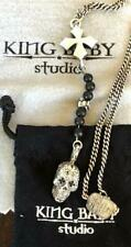 Used King Baby sterling silver 925 Rosary Onyx