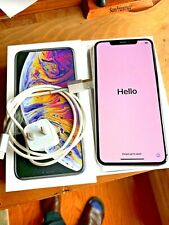 Apple iPhone XS Max - 256GB - Silver (AT&T) A1921 (CDMA + GSM)