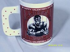 "HAPPY VALENTINES DAY-TO A SUPER KIND OF GUY 5"" L Coffee Cup-Houston Foods"
