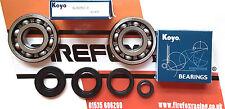 Cagiva Mito 125 Koyo Crankshaft Main Bearing & Seal Kit Also Supercity 125