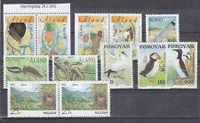 Lotje  Vogels MNH Aland-Faoer-Moldavie  BLz 31
