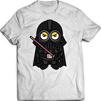 Minion Vader - Darth Vader Parody  - Men's Women's Unisex - T Shirt (S-5XL)