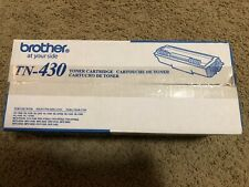 TN-430 Genuine Brother Black Toner DCP-1200 1400 Fax-4750 8750 MFC-8300 8500