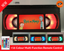 📼 Retro USB VHS Lamp | Rick and Morty For Him For Her Gift Desk Toy Night Light
