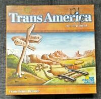 Trans America Board Game Complete Train Ticket Ride Rail Card Boardgame Complete