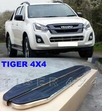 (#120) Isuzu D-max Dmax Dual Cab 2012 to 2018 Running Boards Side Steps