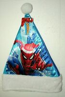 Marvel Comics Spider-Man Christmas Holiday Santa Hat New Tags