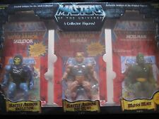 MASTER OF THE UNIVERSE 5 COLLECTOR FIGURES LIMITED EDITION 1 OF 8000 MADE