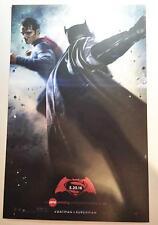 BATMAN V SUPERMAN DAWN OF JUSTICE - Original Promo Movie Poster AMC Exclusive