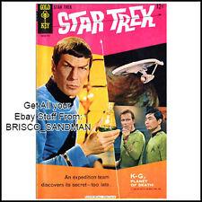 Fridge Fun Refrigerator Magnet STAR TREK COMIC BOOK COVER Issue 1 Gold Key