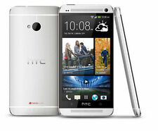 "4.7"" HTC One M7 Android Smartphone - 32GB 4.0MP Camera GPS WIFI -Silver Unlocked"