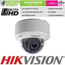 HIKVISION 3MP 1080P HD-TVI TURBO 2.8-12MM MOTORIZED IR DOME CCTV SECURITY CAMERA