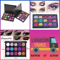 Cmaadu Palettes Maquillage Shimmer Ombres/Fards A Paupiere Glitter