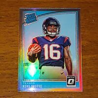 Keke Coutee 2018 Optic Rated Rookie Holo Prizm RC Houston Texans SP Silver