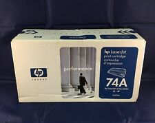 HP 92274A 74A Toner Cartridge Genuine - Sealed Box