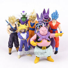 DRAGON BALL Z - SET 8 FIGURAS / MAJIN BUU, PICCOLO, ETC / 8 FIGURES SET 13-16cm
