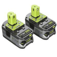 New Ryobi P122 18-Volt Lithium Plus High Capacity 4-Ah Batteries x2 P108