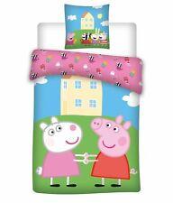 Peppa Wutz Bettwäsche-Set 135x200 Baumwolle Peppa Pig Kinderbettwäsche Bettwaren