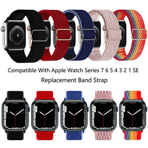 For Apple Watch Series 7 6 5 4 3 SE 38/40/41/42/44/45mm Replacement Band Strap