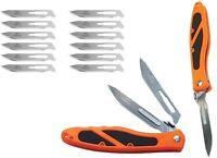 NEW Havalon EDGE Hunting Skinning Guide knife ORANGE XTC-60AEDGE Piranta 60A