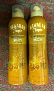 2x Hawaiian Tropic Island Radiance Self Tanner Lotion medium/dark skin 6oz