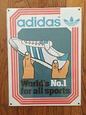 Adidas OG Rom Soccer Futbol Messi Metal Sign Advertising Sneaker Track Shoes My