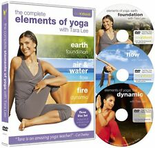 Elements of Yoga  The Collection with Tara Lee  3 DVD Set  Box Set