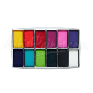 Global Colours ALL YOU NEED Face Paint Body Art one stroke makeup Palette