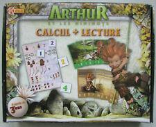 Arthur et les Minimoys : 2 boîtes jeux Calcul + Lecture & Mémo + Dominos Âge 3+