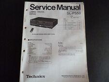 Original Service Manual Technics Compact Disc Player SL-PS50