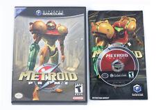 Metroid Prime-Nintendo Gamecube Juego Y Estuche NTSC USA