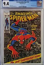 AMAZING SPIDER-MAN #100 CGC 9.4 HTF MARK JEWELER'S INSERT