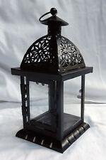 QUADRATO stile tradizionale Marocchino Candela Lanterna-Nuovo con Scatola