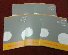 SILVINE A4 ACCOUNTS BOOK KEEPING LEDGER X 6 BOOKS