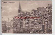 (109065) AK Hamburg, Deichstraßenfleet, Geschäft Tischlerwerkzeuge, Buchdruckere